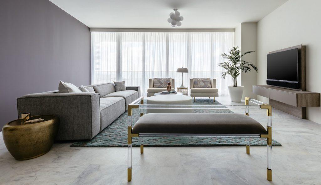 Südstrand high-rise living room
