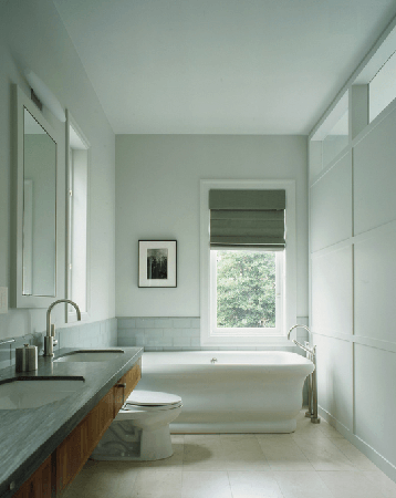 light gray bathroom colors