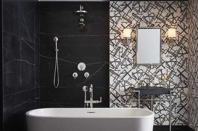 modern bathroom wallpaper ideas