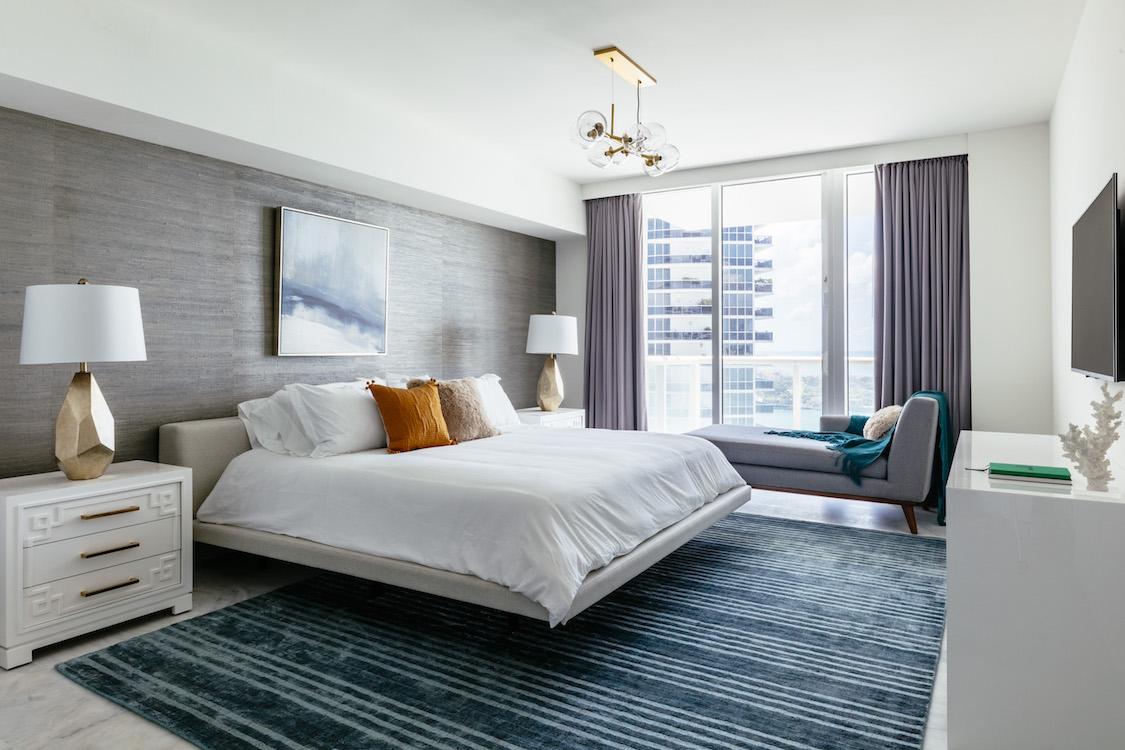 Sleeping area carpet