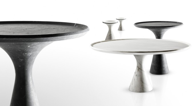 round marble tables ideas