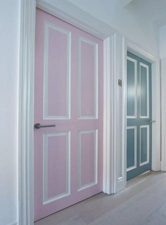 cheap home decor ideas door color