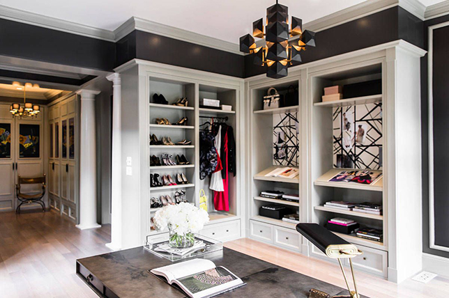chic closet storage ideas