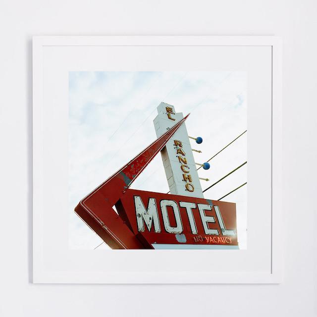 Motel sign art photo