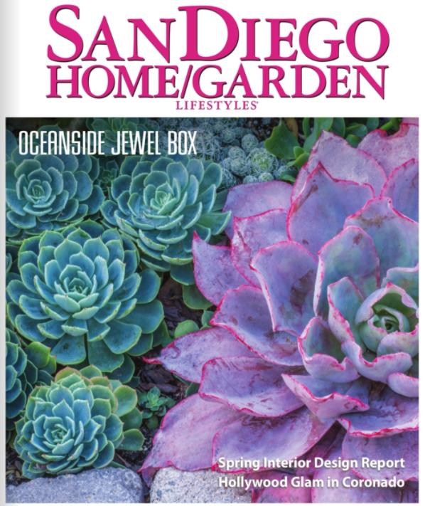 San Diego home garden