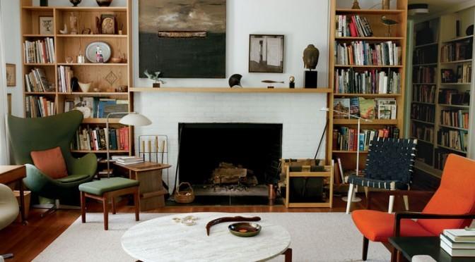 neutral modern living room design