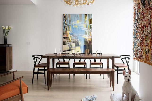 modern dining room walls decor