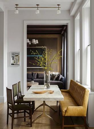 minimal dining room walls decor ideas