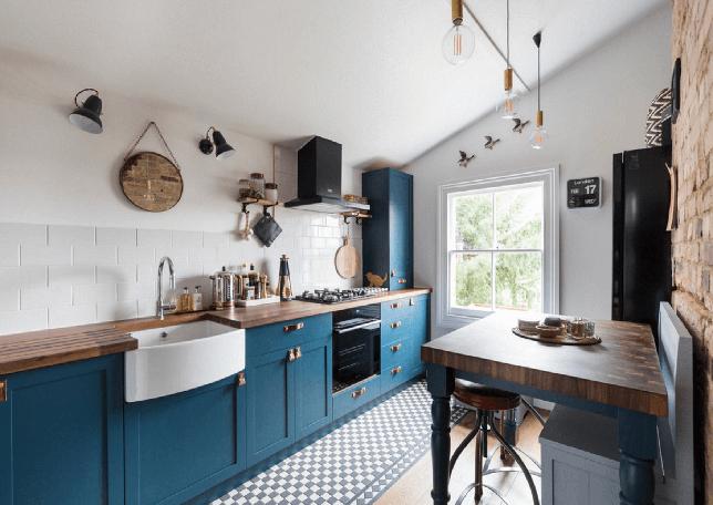 modern farmhouse kitchen ideas unique colors