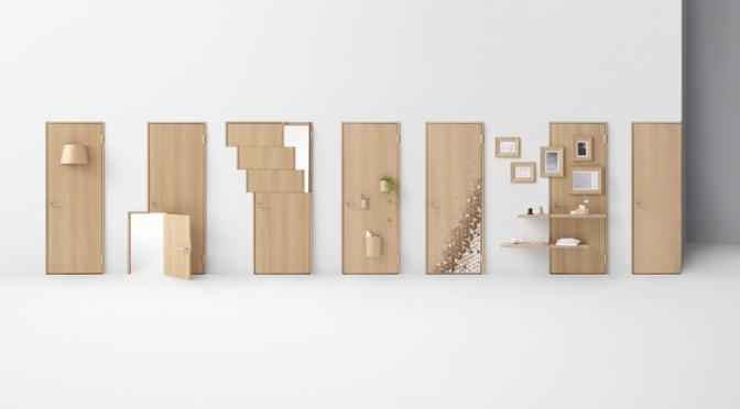 Seven Doors by Nendo Akihiro Yoshida
