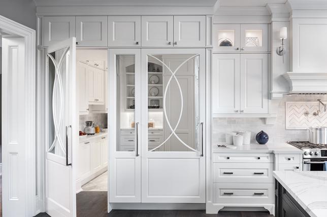Kitchenette kitchen ideas mirror cabinets