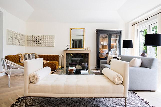 Hollywood regency style interior design