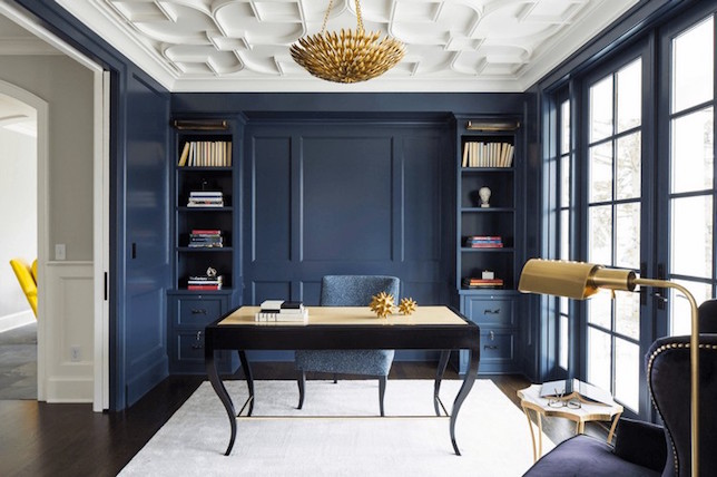stylish ideas for the home library