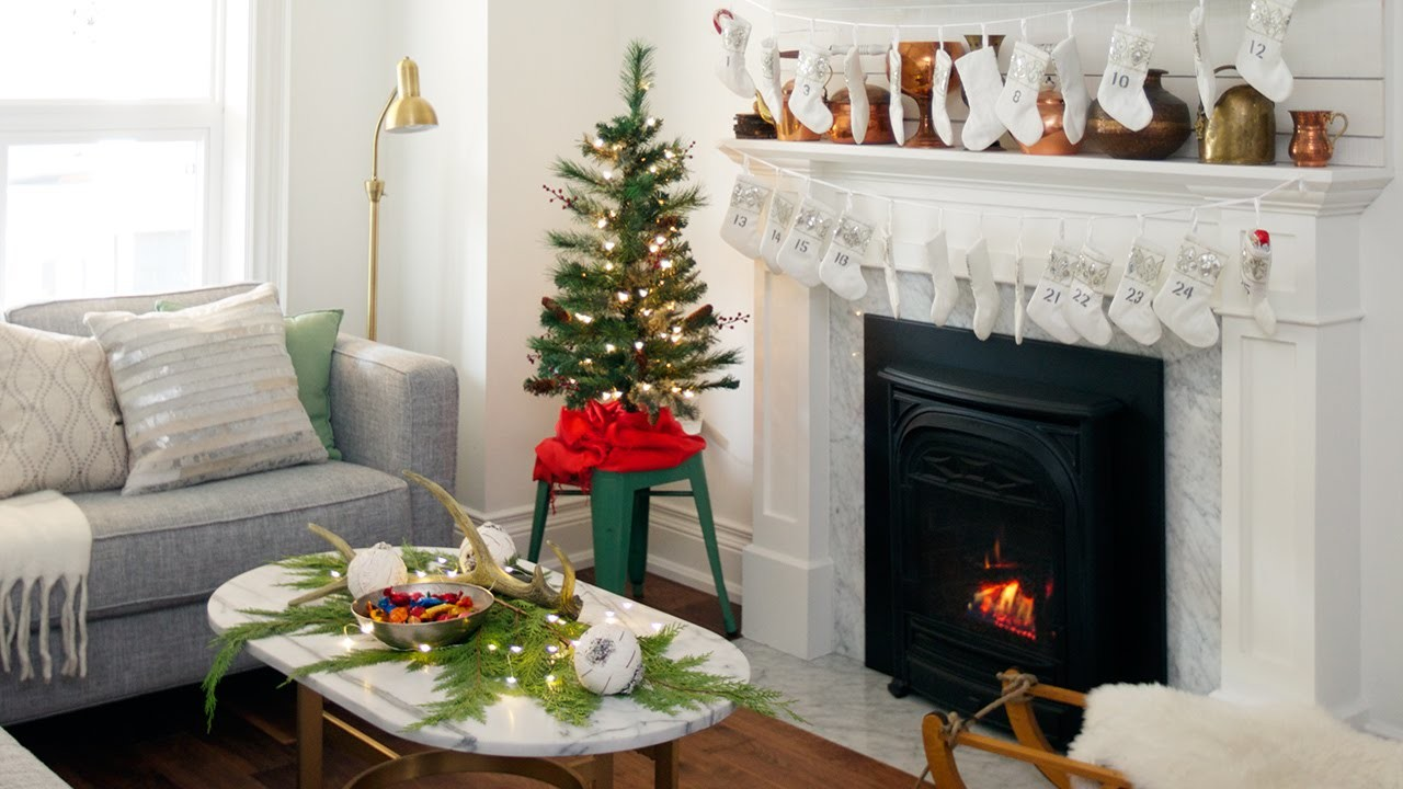 small spaces Christmas decorations