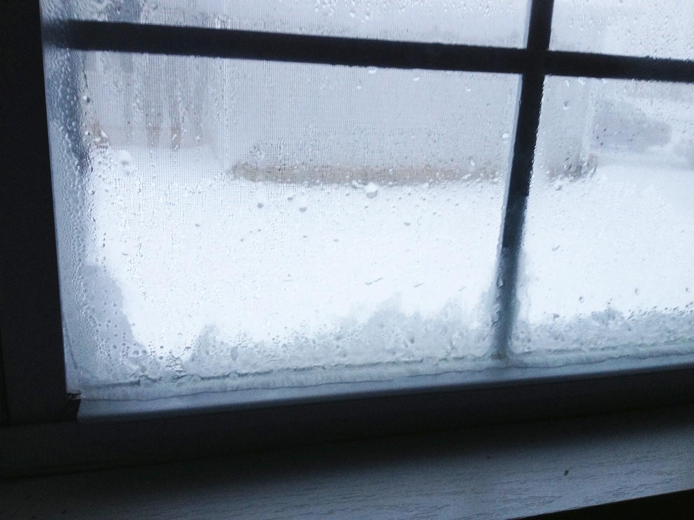 Seal windows in winter
