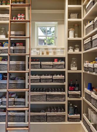 Storage basket kitchen cabinet pantry ideas