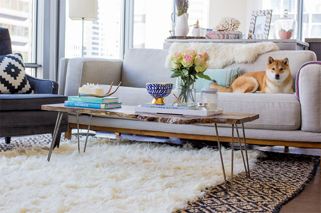 how to layer carpet tips