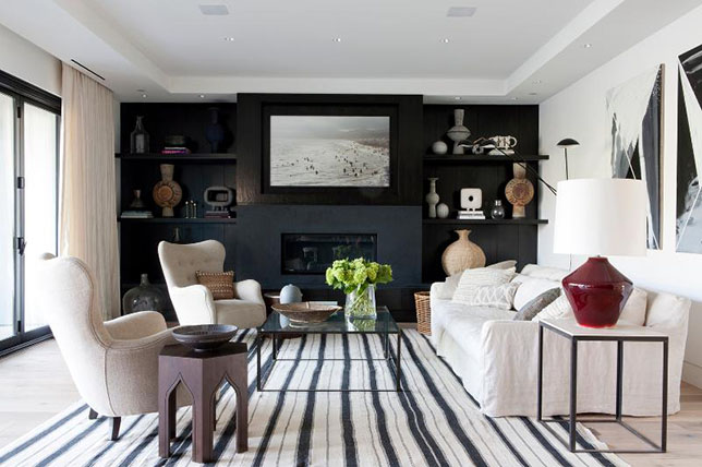 contemporary ideas for living room colors
