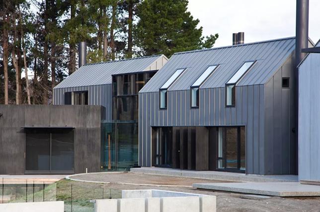 Zinc metal roof ideas