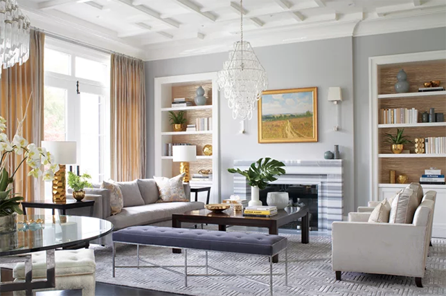 Learn the mismatched placement of furniture