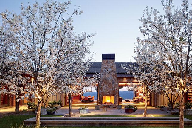 inspiring modern country house interior design