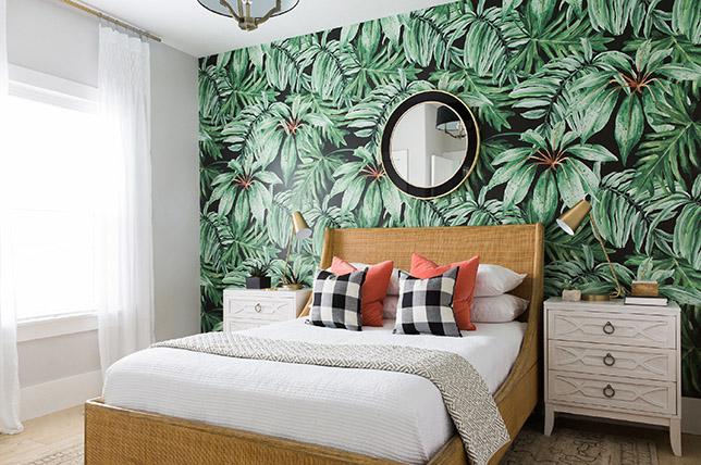 modern tropical home decor
