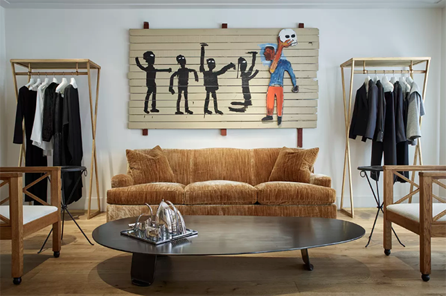 Vintage furniture stores in New York City
