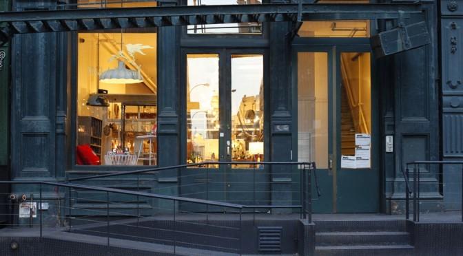 Soho storefront