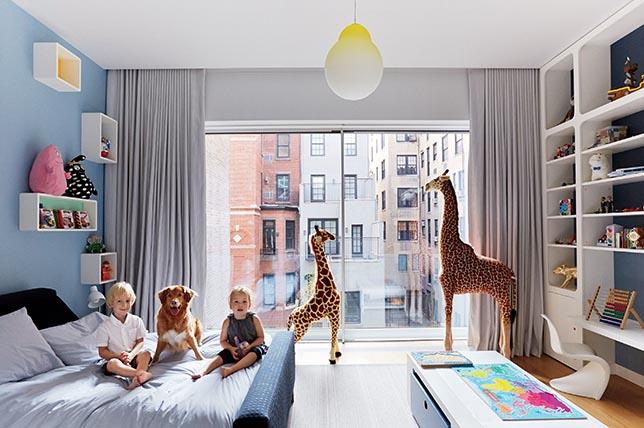 Interior design with children