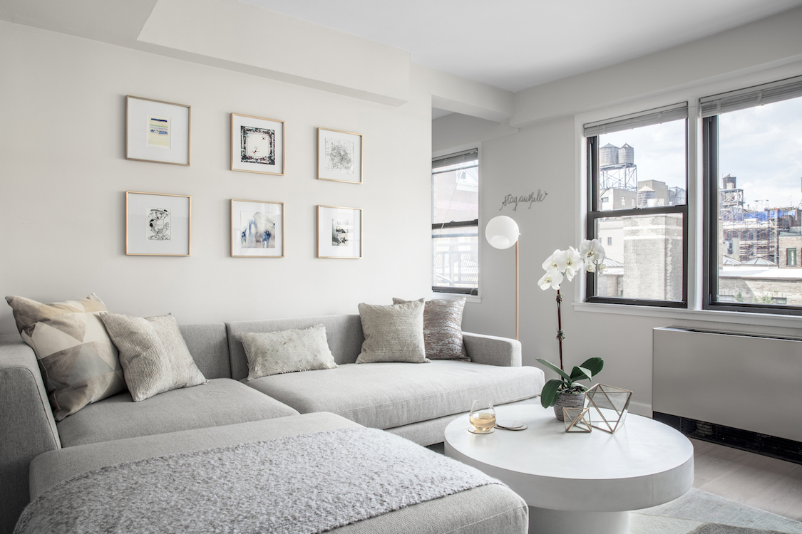small apartment design ideas section