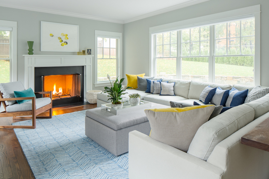 Spring home redesign accents
