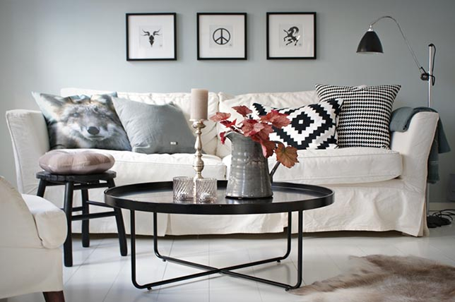 Decoration tips for coffee tables