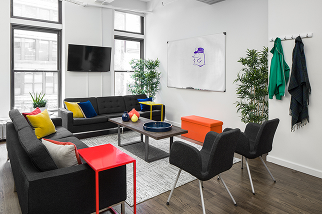 Tech inspired office designs