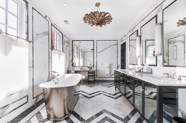 Luxurious bathroom renovation trends