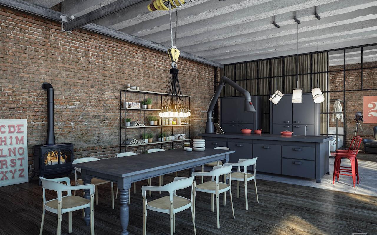 Industrial kitchen