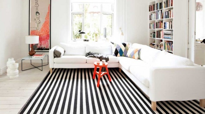 striped carpet head