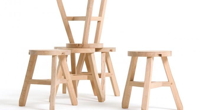 Cut off stool