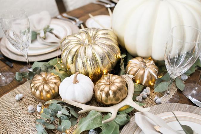 Decor help Thanksgiving tablescape decor ideas