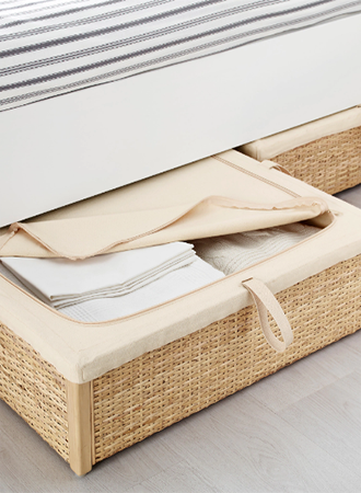 Boxed under bed storage ideas