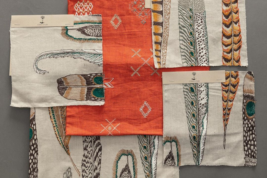 Coral Tusk Fabric Collection