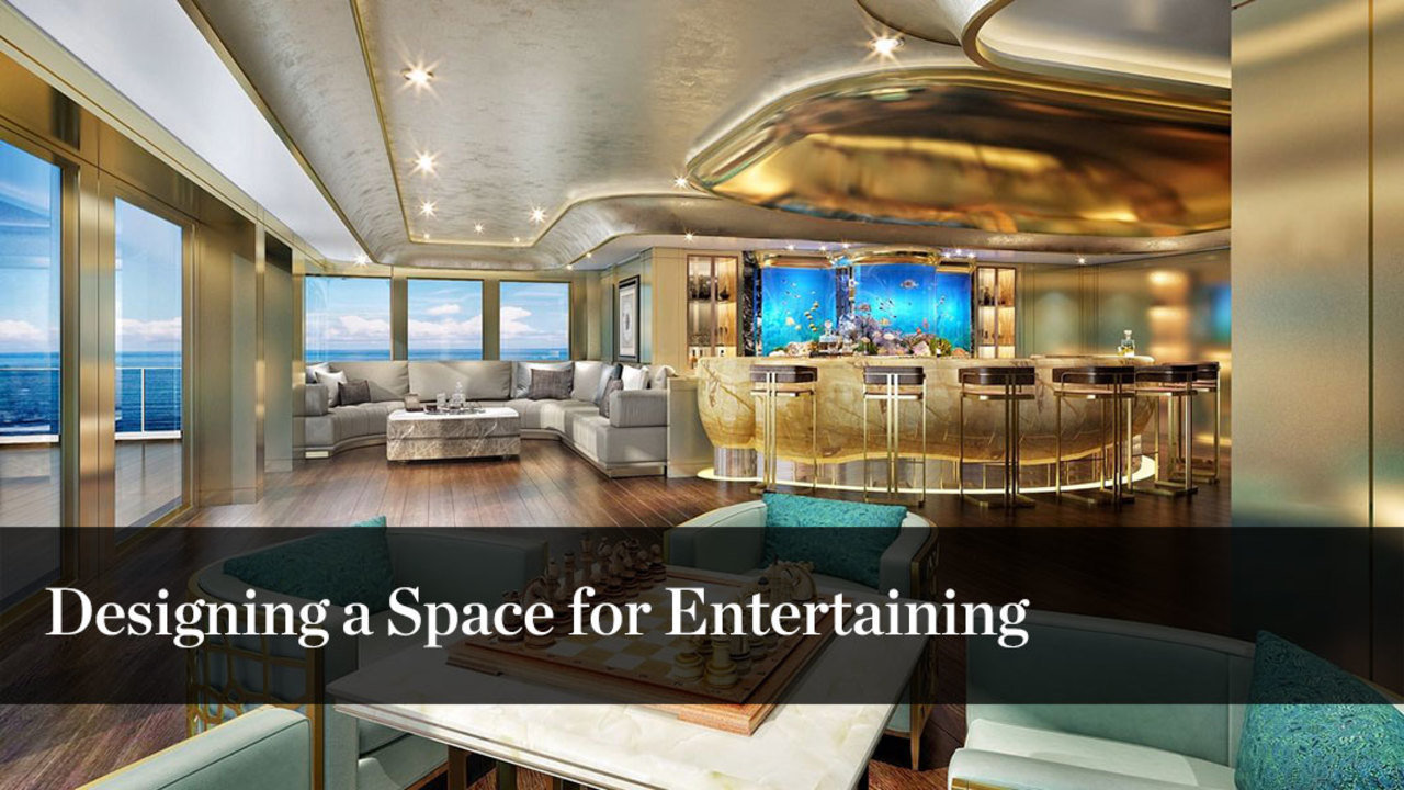 Create Space For Entertaining