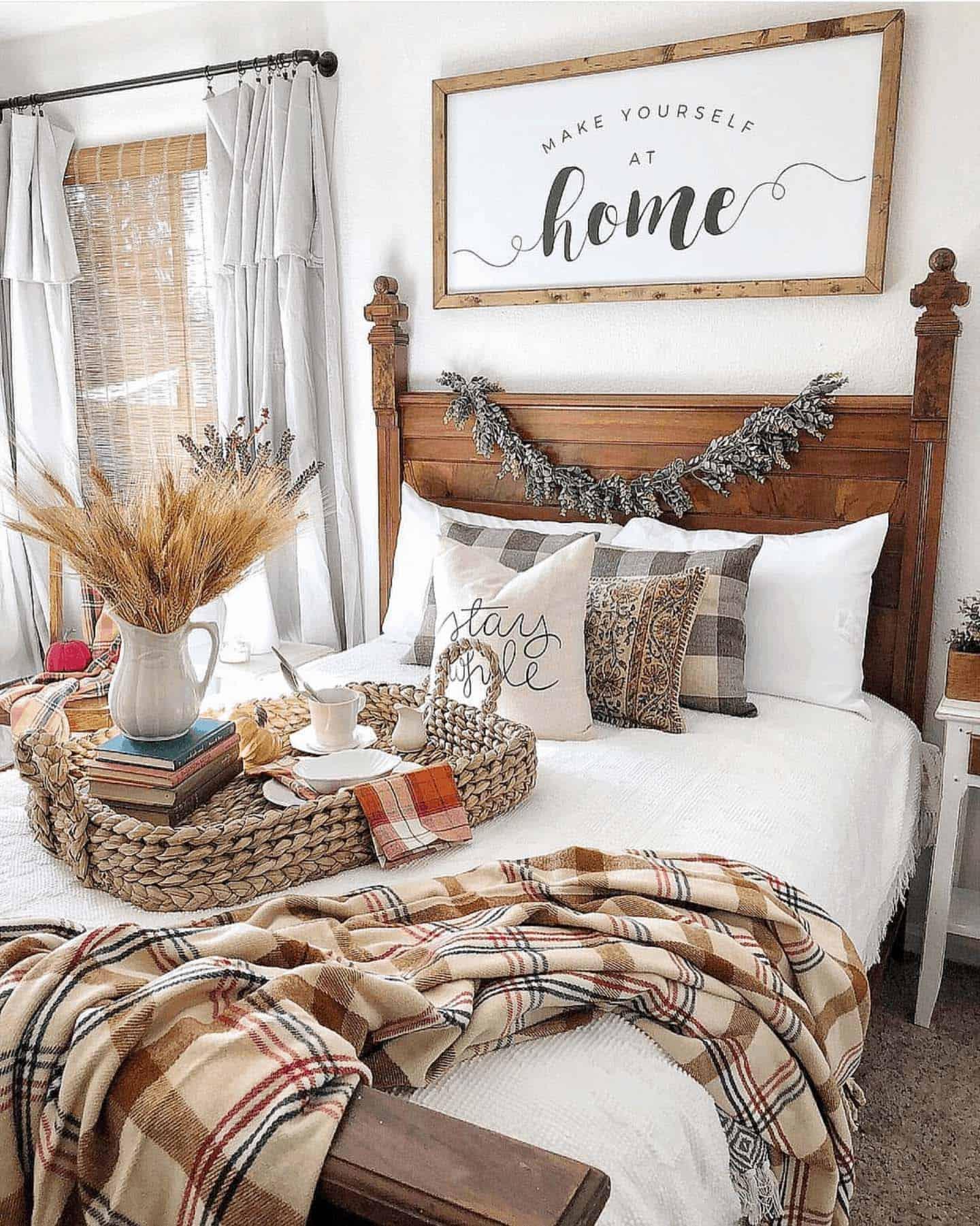 Fall Bedroom Ideas