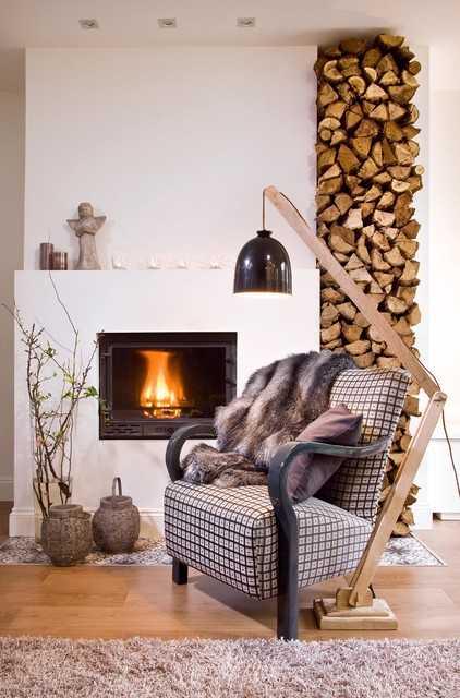 Firewood Decor