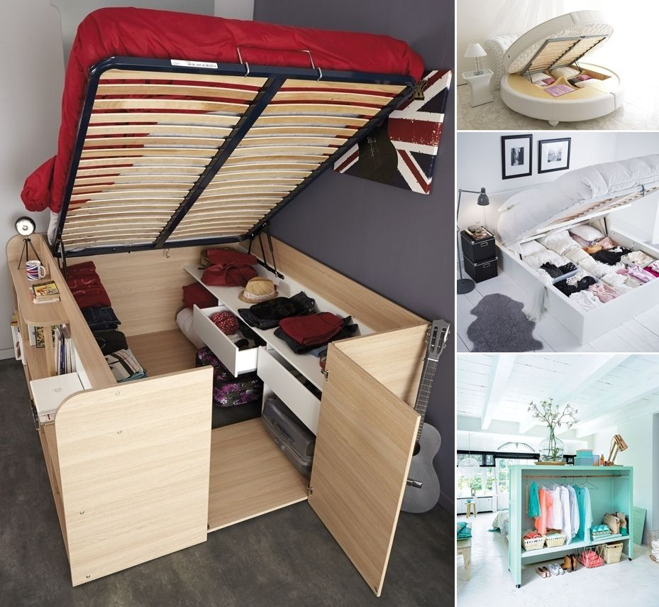 Furniture For Small Space Storage Ideas