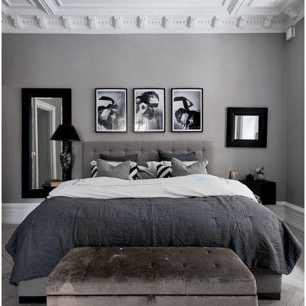 Grey Bedrooms Design Ideas
