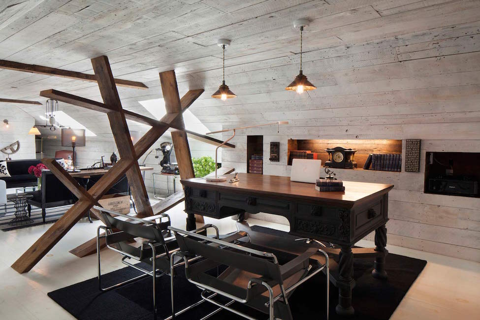 Hamptons Home Office Redesign