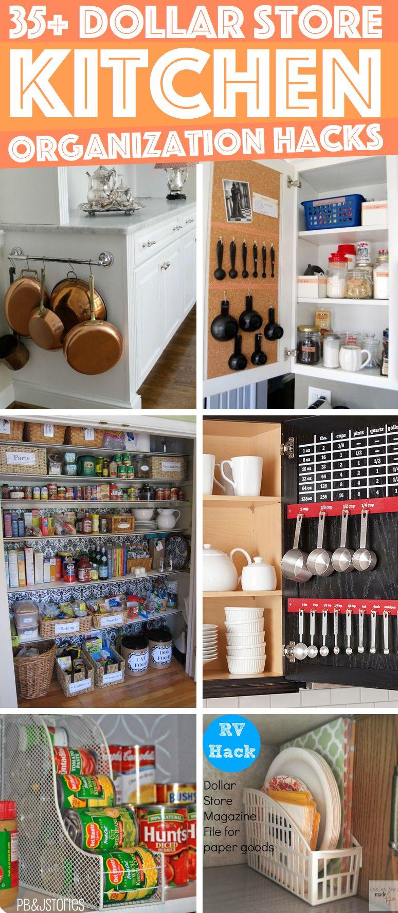 Kitchen Decor Organizing Hacks
