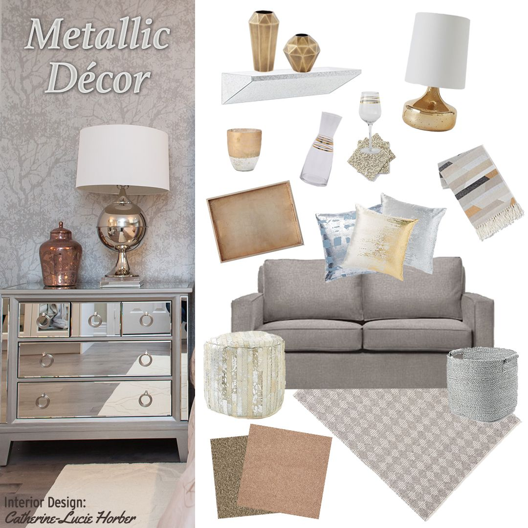 Metallic Home Accesories