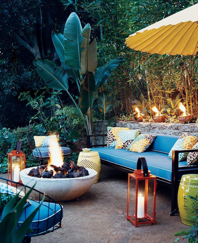 Outdoor Tropical Decor