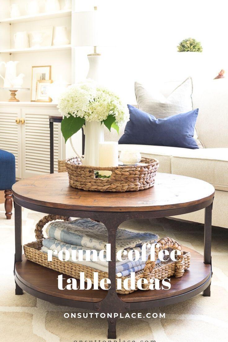 Round Coffee Table Ideas